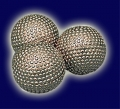 Multiplikation of Balls v. Vernet- Chikagoer in silber-genoppt