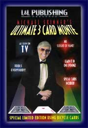 Ultimate 3 Card Monte v. Mike Skinner, (Bicycle)
