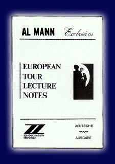 Al Mann Europ. Tour Lect. Notes