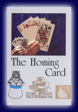 Homing Card DVD, GMVL