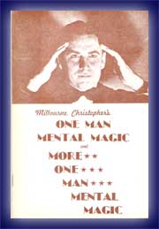 One Man Mental Magic v. Milbourne Christopher